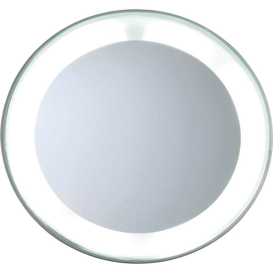 Tweezerman Spiegel 15x vergrotend met LED licht Badkamerspiegel ...