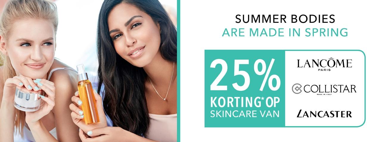 Skincare korting april