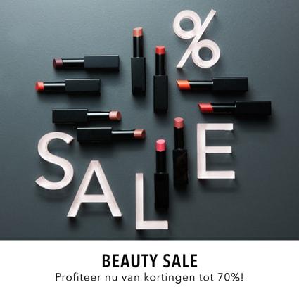 Beautysale tot 70% korting