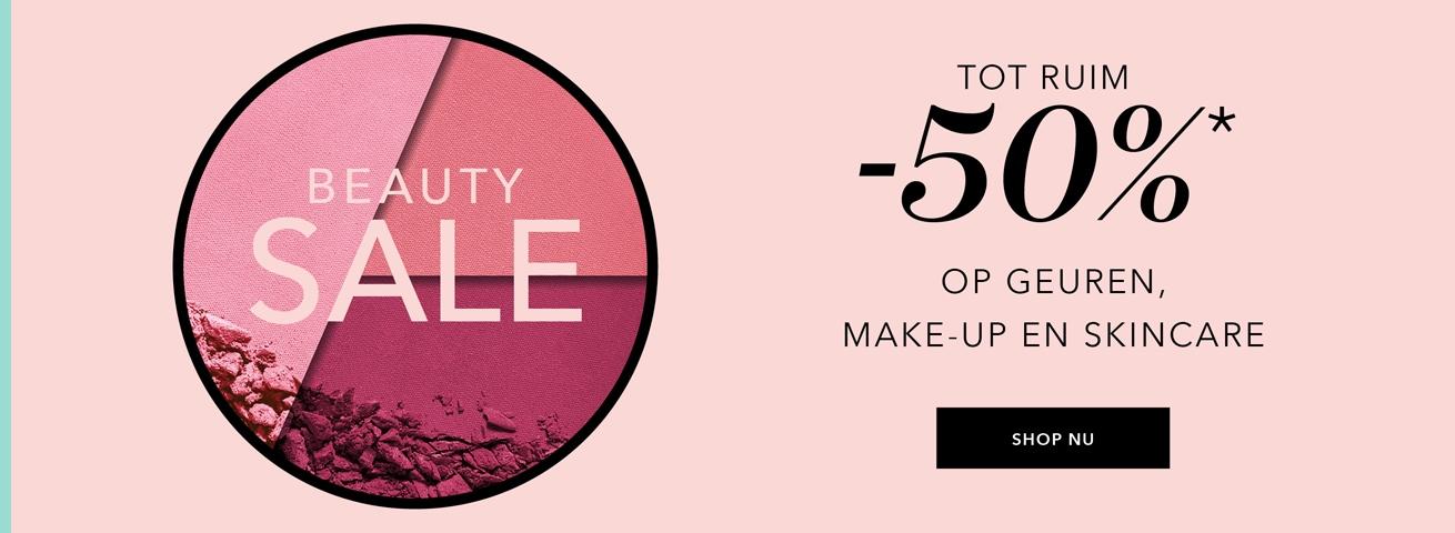 Beauty Sale tot ruim -50%